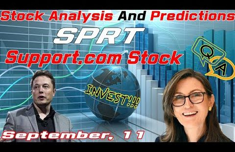 🔴Inventory Analysis and Predictions On the present time » SPRT Inventory » Make stronger.com Inventory » September, 11