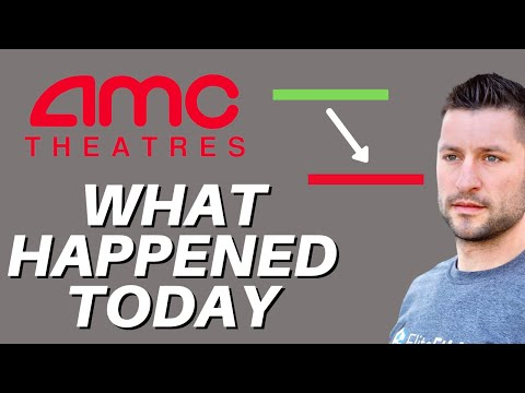 AMC STOCK UPDATE – DEEP DIVE INTO EXACTLY WHAT HAPPENED TODAY