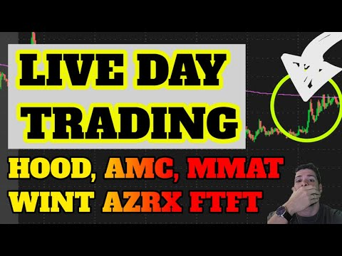 🔴LIVE DAY TRADING – AMC Gamma Squeeze? ATER GAP! SPRT BACK? MMAT! BBIG! BTC? ETH? Penny Shares LPTX