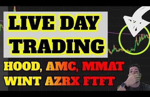 🔴LIVE DAY TRADING – AMC RUNNING! BBIG BACK? MMAT! SPRT! BTC Dip Have interaction? ETH, DOGE? Penny Shares IGC AEI