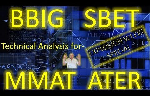 BBIG SBET MMAT ATER Explosion Week Special !