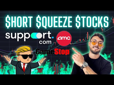 Let's Focus on Short Squeezes! $SPRT, $BBIG, $AMC and $GME Prognosis
