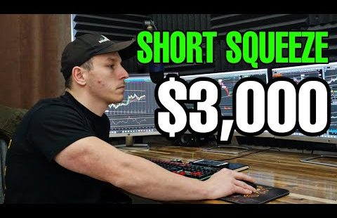 Trader Makes $3,000 Trading AGTC Brief Squeeze | REAL TIME