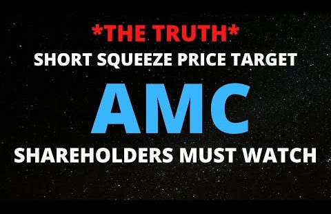 AMC STOCK SHORT SQUEEZE PRICE TARGET.. *THE TRUTH*