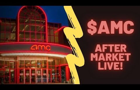 AMC STOCK – AFTER MARKET LIVE – ENTERING THE SHORT SQUEEZE!
