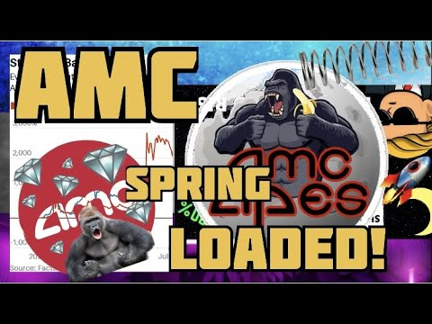 AMC STOCK – SHORT SQUEEZE JULY 9TH   SPRING IS LOADED