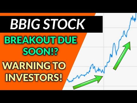 BBIG STOCK HUGE UPDATE! – IS IT ABOUT TO BREAKOUT OR WILL WE SEE A DROP!? + COULD THIS HAPPEN TMR!?