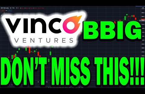 Vinco Ventures BBIG Stock HUGE OPPORTUNITY IS COMING! GET READY FOR THIS!