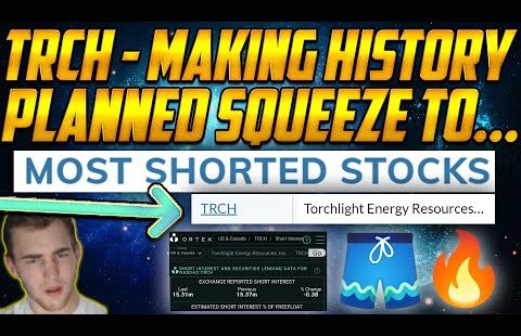 TRCH Quick Squeeze History within the Making (Breaking News⚠�) MERGER PREDICTIONS
