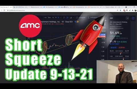 AMC Short Squeeze 9-13-21 | Short Sellers Down $4.76 Billion This 365 days