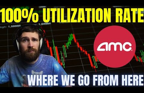 AMC STOCK – 100% UTILIZATION RATE! SHORT SQUEEZE COMING SOON?!