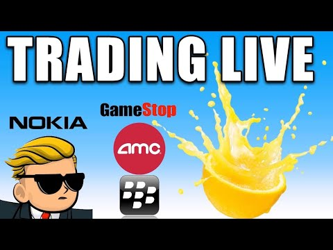LIVE TRADING SHORT SQUEEZES | AMC Stock, GME Stock Updates And Extra!