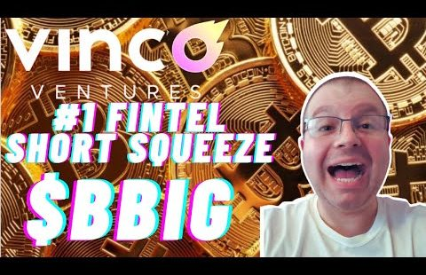 MASSIVE WEEK BBIG ! FINTEL'S #1 SHORT SQUEEZE STOCK & TYDE SPINOFF DIVIDEND KEY DATES