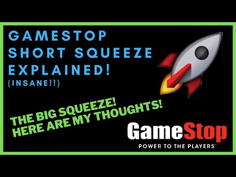 GAMESTOP SHORT SQUEEZE EXPLAINED! – The Huge Short Squeeze! – (GME Stock Diagnosis)