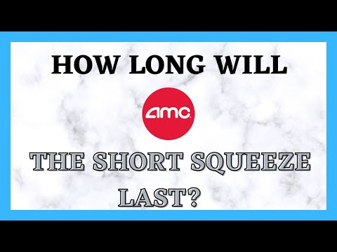 AMC STOCK | HOW LONG WILL THE SHORT SQUEEZE LAST