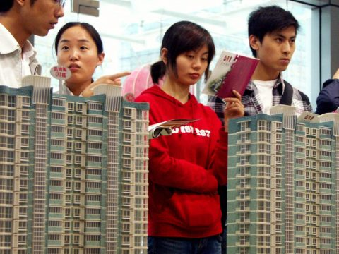 A Chinese property giant is a $300 billion time bomb for Beijing